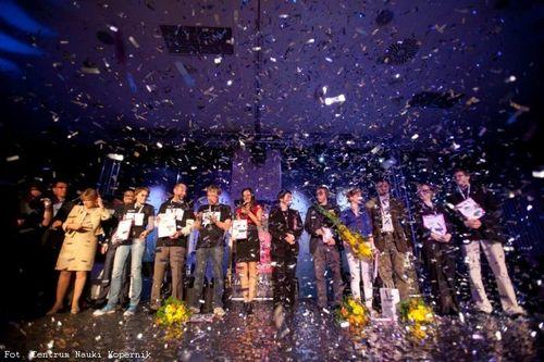 Zdjęcie z finału konkursu FameLab 2012